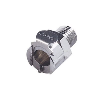 1 / 4 BSPT Valved Chrome-plated Brass Coupling Body W / Viton Seal