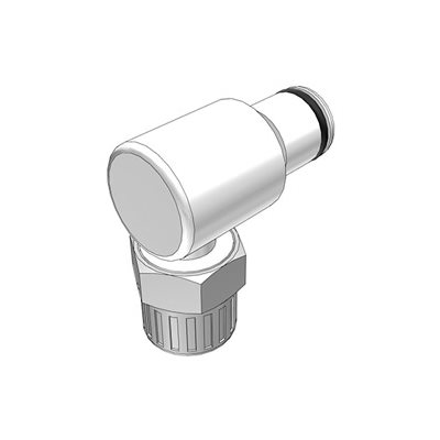 3 / 8 PTF Non-Valved Elbow Acetal Coupling Insert