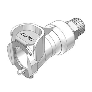 1 / 4 PTF Valved In-Line Acetal Coupling Body