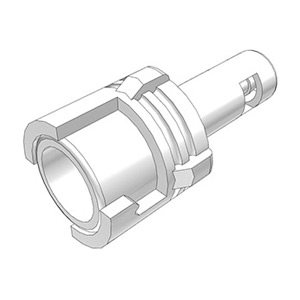 1 / 16 Hose Barb Valved In-Line Acetal Coupling Body